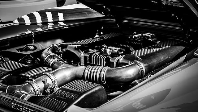 Ferrari Engine Pixabay Public Domain