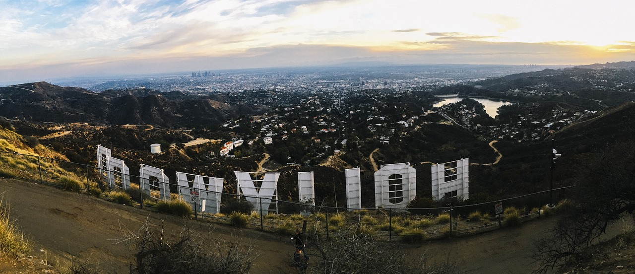 The Hollywood Hills California Pixabay Public Domain