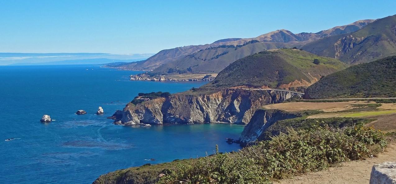 Monterey Bay Pixabay Public Domain