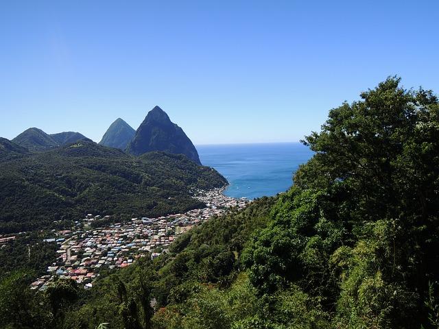 St. Lucia Group Tours Pixabay Public Domain