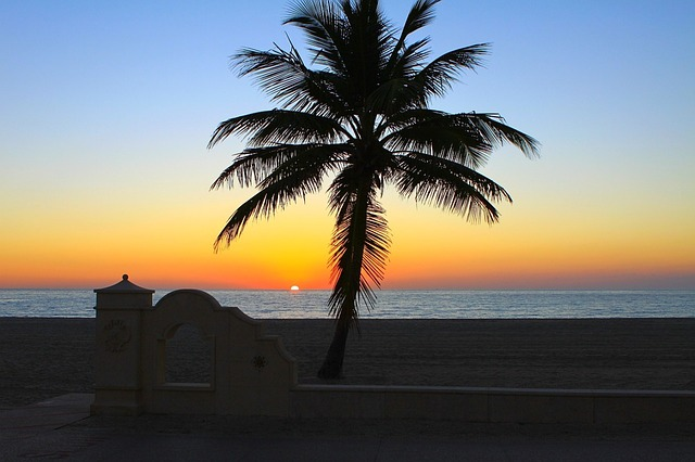 Hollywood Beach Florida Pixabay Public Domain