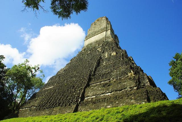 Tikal Guatemala Pixabay Public Domain