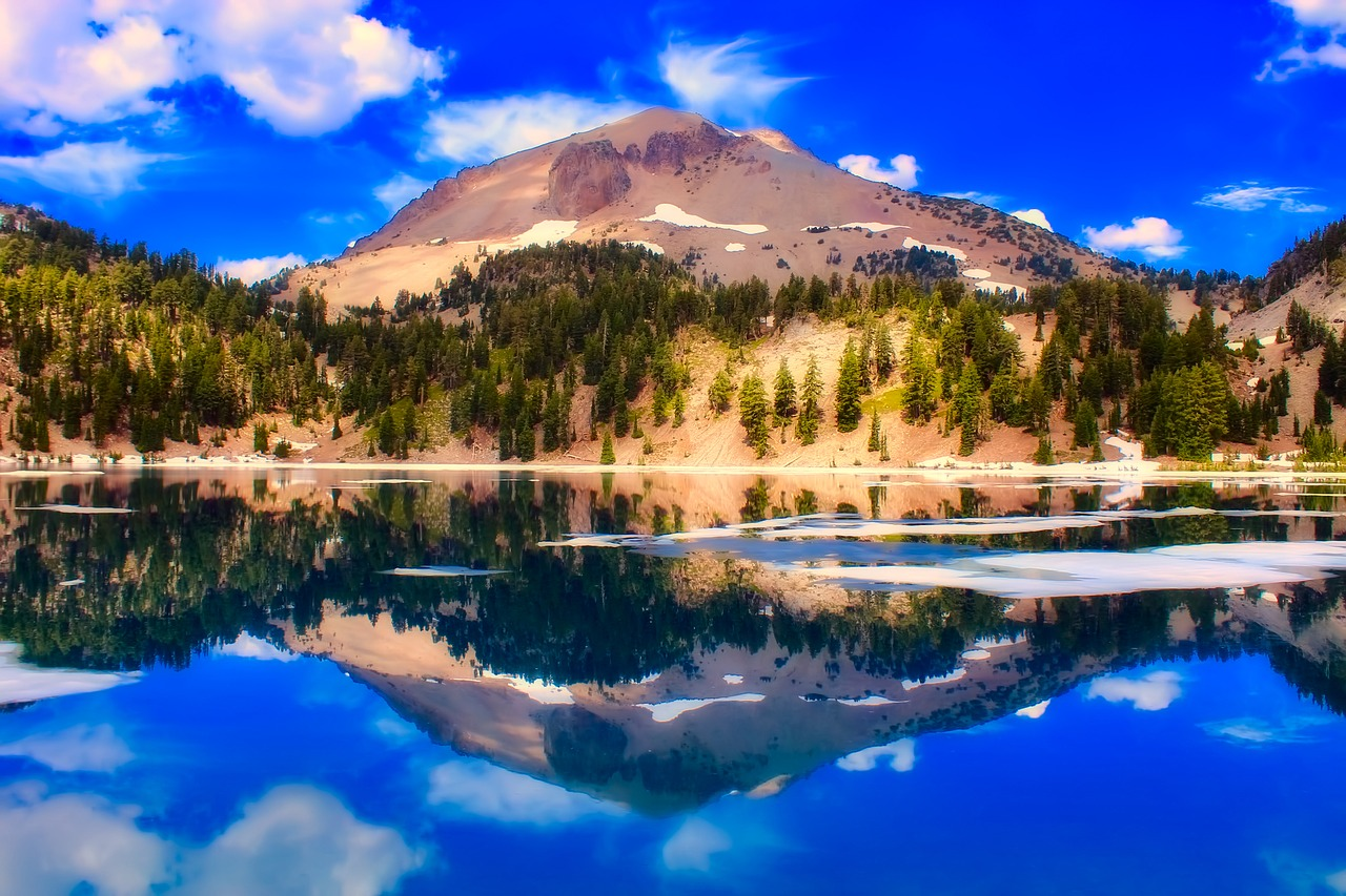 Lassen Volcanic National Park Pixabay Public Domain