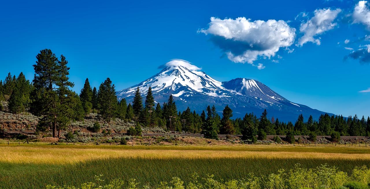 Mount Shasta Pixabay Public Domain