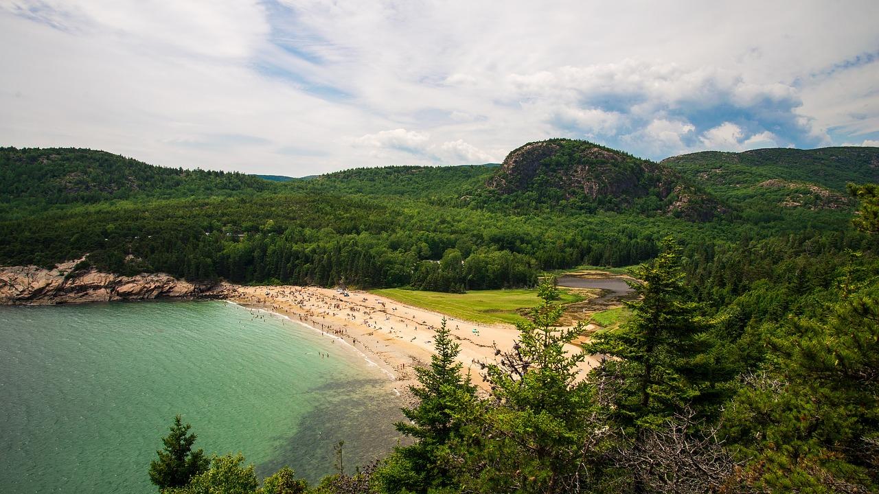 Sand Beach Acadia NP Pixabay Public Domain