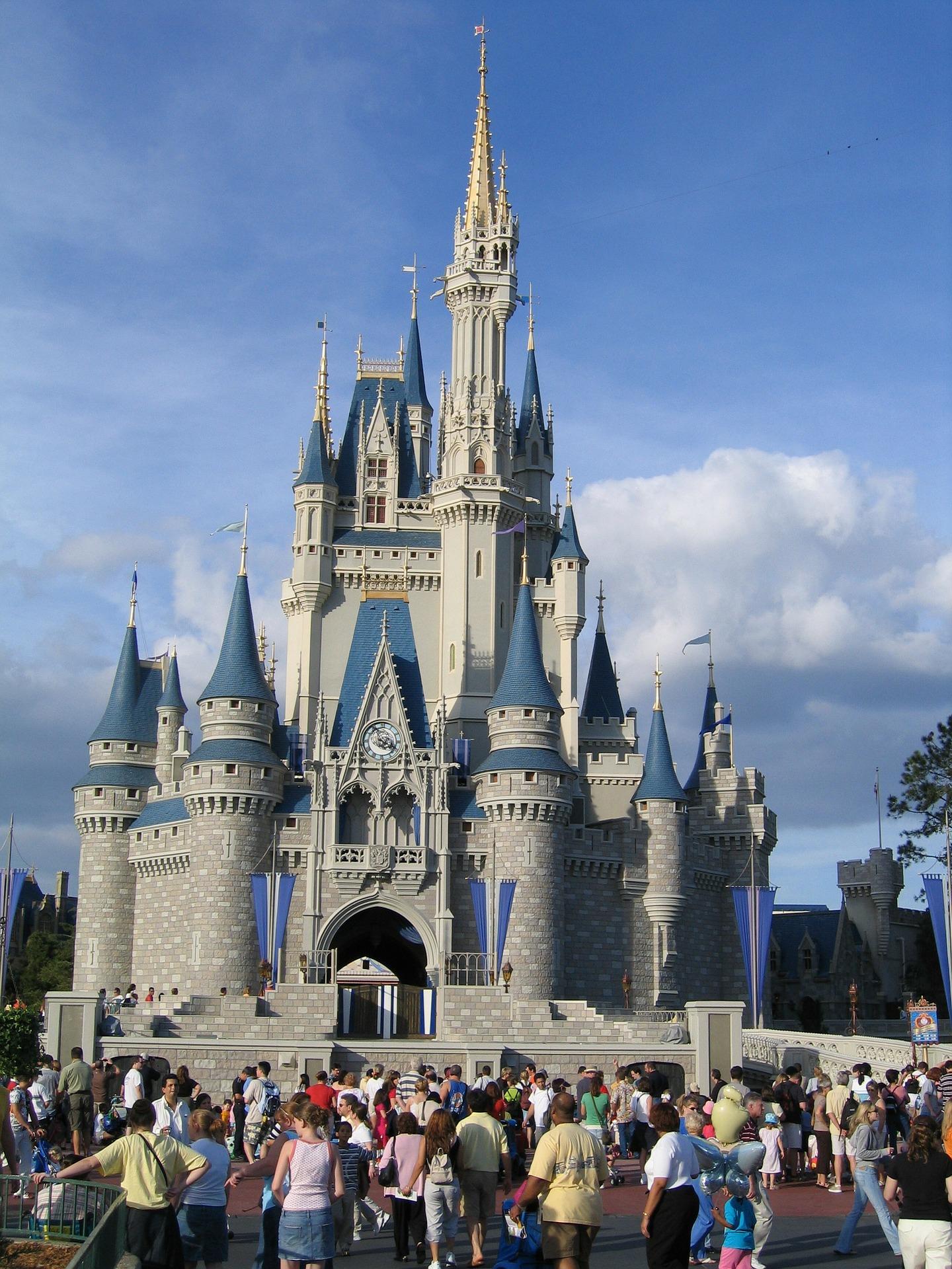 Walt Disney World Orlando Pixabay Public Domain