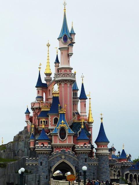Disneyland Paris Pixabay Public Domain