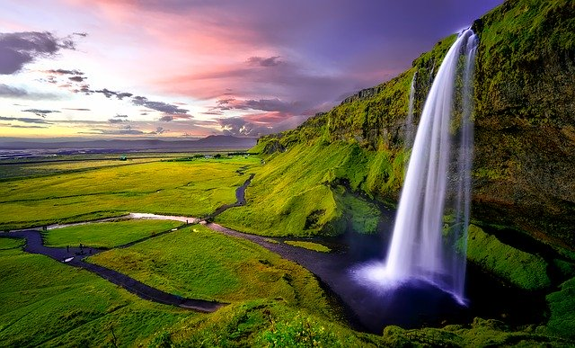 Icelandic Waterfall Pixabay Public Domain