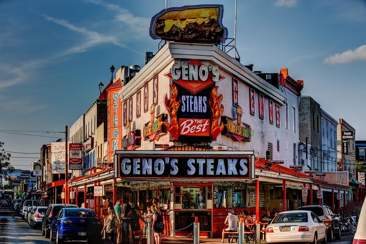 Geno's Steaks Pixabay Public Domain