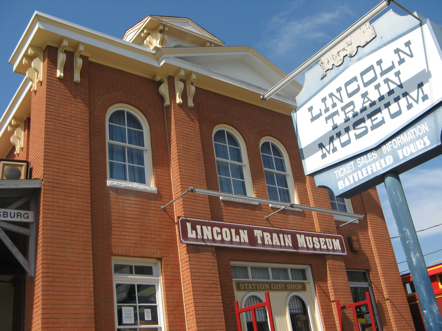 Lincoln Train Museum Credit Destination Gettysburg