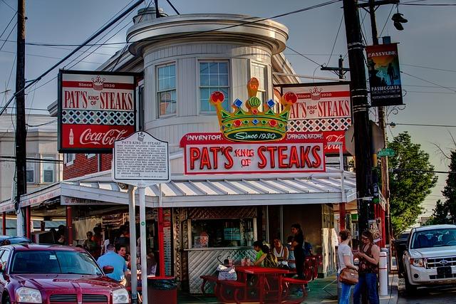 Pat's Steak Pixabay Public Domain