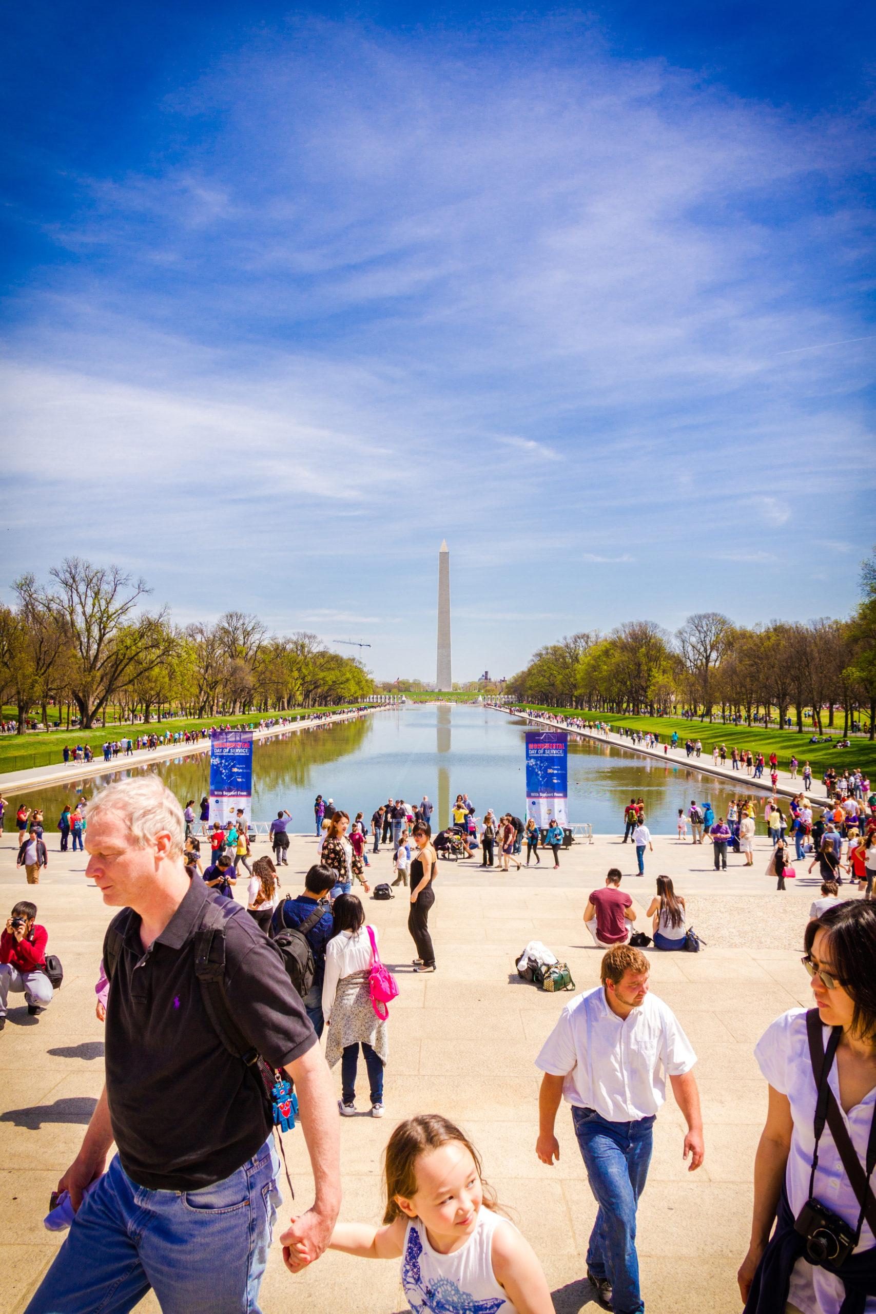 View of the Washington Monument National Mall Courtesy of washington.org