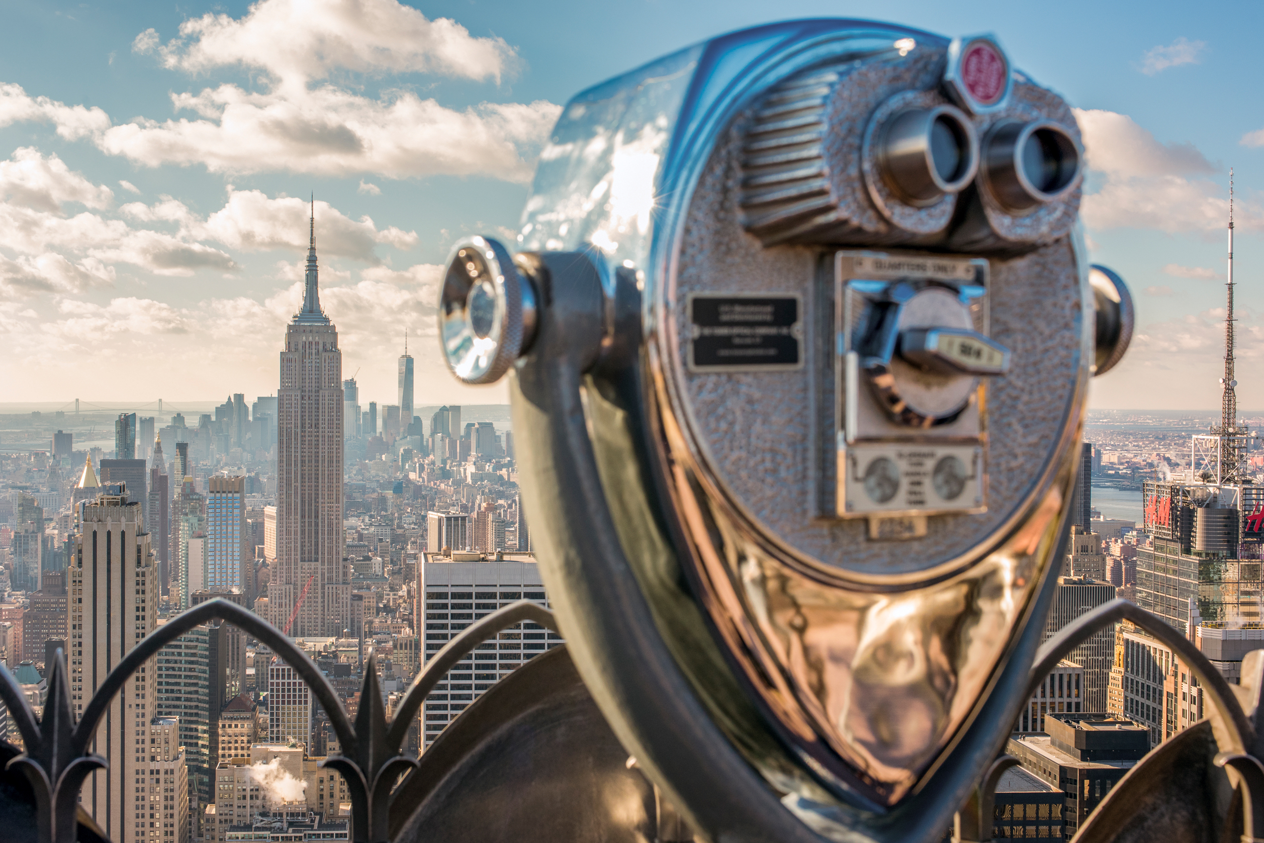 Top of the Rock, Midtown, Manhattan, Credit NYC & Company