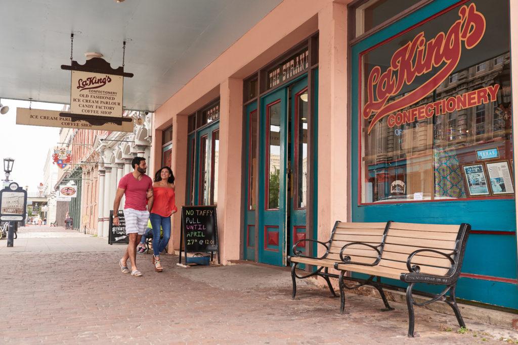 LaKings Confectionery Exterior Credit Galveston Island CVB